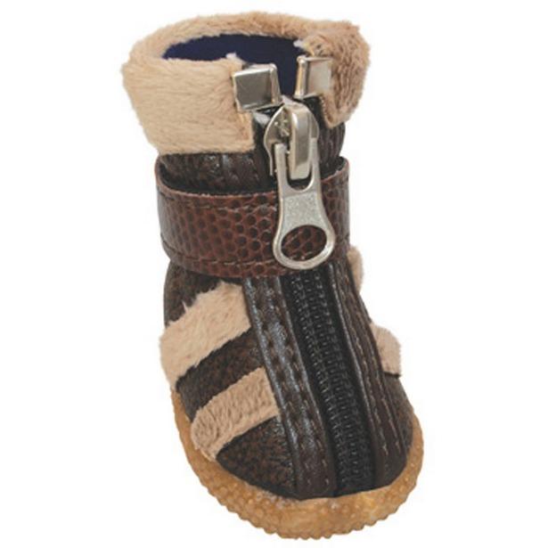 фото Обувь для собак DEZZIE «Вудди». Размер: 1 (3х2,4 см)