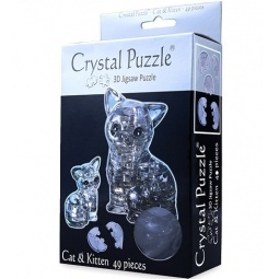 Купить Пазл 3D Crystal Puzzle Кошка