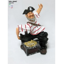 Купить Подставка для вина Drivemotion Пират и 2 бутылки