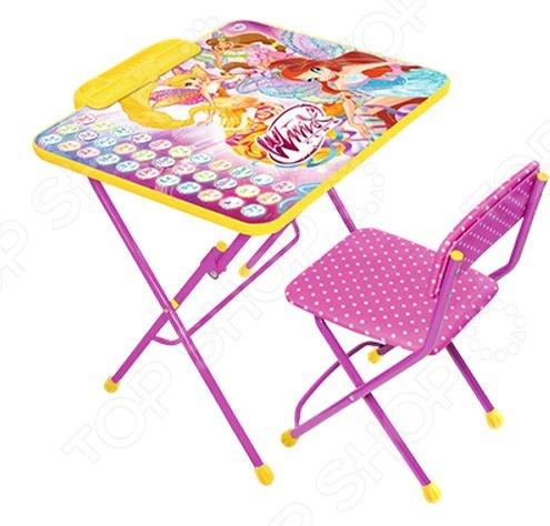 Набор мебели детский Ника «Азбука» 581189 ника набор мебели в2а винкс winx club ника