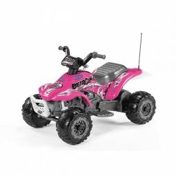 фото Квадроцикл детский электрический PEG - PEREGO Corral Bearcat. Цвет: розовый