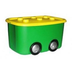 Купить Ящик для игрушек М ПЛАСТИКА «Моби»