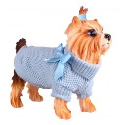 Купить Свитер-попона для собак DEZZIE «Аква»