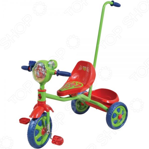 Велосипед трехколесный 1 Toy Т57659 «Angry Birds» Велосипед трехколесный 1 Toy Т57659 «Angry Birds» /