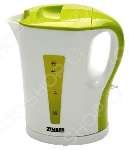 Чайник Zimber ZM-10857 чайник zimber zm 10818 2000 зелёный 1 8 л металл стекло