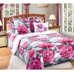 Купить Комплект постельного белья ТексДизайн «Пионы». 2-спальный