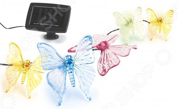 Светильник-гирлянда садовый Эра SL-PL600-BTF20 садовый светильник эра sl pl33 crac