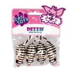 фото Набор игрушек для кошек DEZZIE «Зебра»