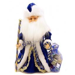 фото Игрушка под елку музыкальная Новогодняя сказка «Дед Мороз в синем» 972122