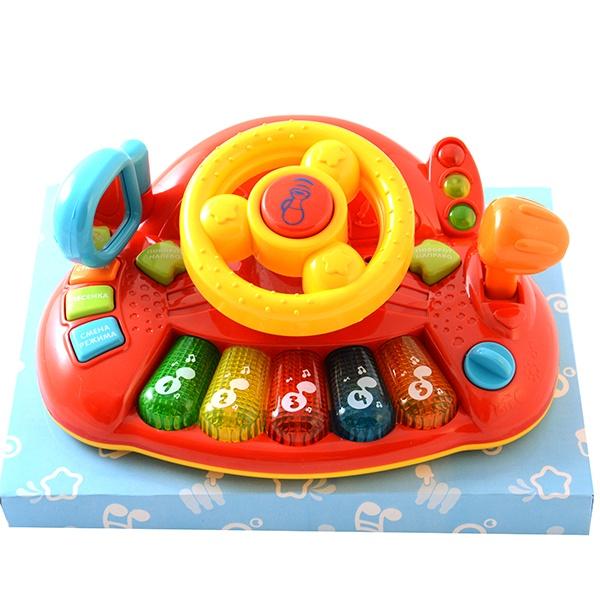 Руль музыкальный PlaySmart Р41053