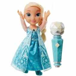 Купить Кукла интерактивная Disney «Эльза поющая с микрофоном. Холодное Сердце»