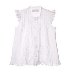 Купить Блузка детская Katie Baby Rosy variations. Цвет: белый