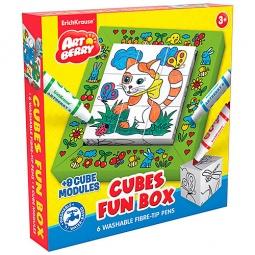 Купить Набор для раскрашивания Erich Krause Canvas Fun box