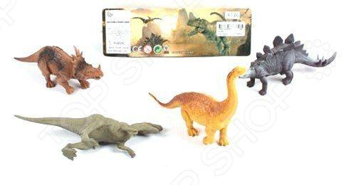 Набор фигурок Shantou Gepai «Долина динозавров» K146