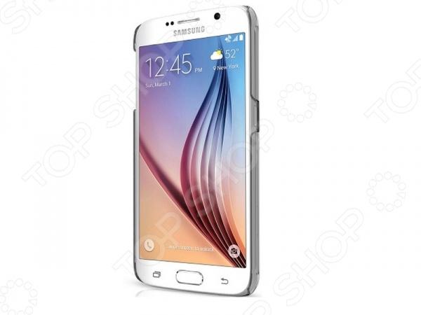 Чехол для Galaxy S6 ITSKINS Pure IceЗащитные чехлы для других мобильных телефонов<br>Чехол для Galaxy S6 ITSKINS Pure Ice стильный и практичный помощник для вашего гаджета. Изделие изготовлено из прочного пластика, который, несмотря на внешнюю изящность и легкость, прекрасно справляется с защитными функциями, предотвращая появление сколов и царапин на корпусе. Конструкция чехла не препятствует удобному пользованию смартфоном, давая свободный доступ ко всем функциональным кнопкам, гнездам и камере.<br>
