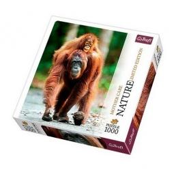 фото Пазл 1000 элементов Trefl «Орангутан» 10514