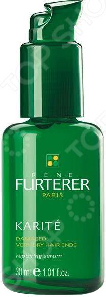 Сыворотка восстанавливающая для поврежденных и очищения сухих кончиков волос Rene Furterer Karite