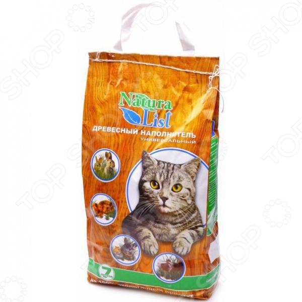 Наполнитель для кошачьего туалета Natura List универсальный