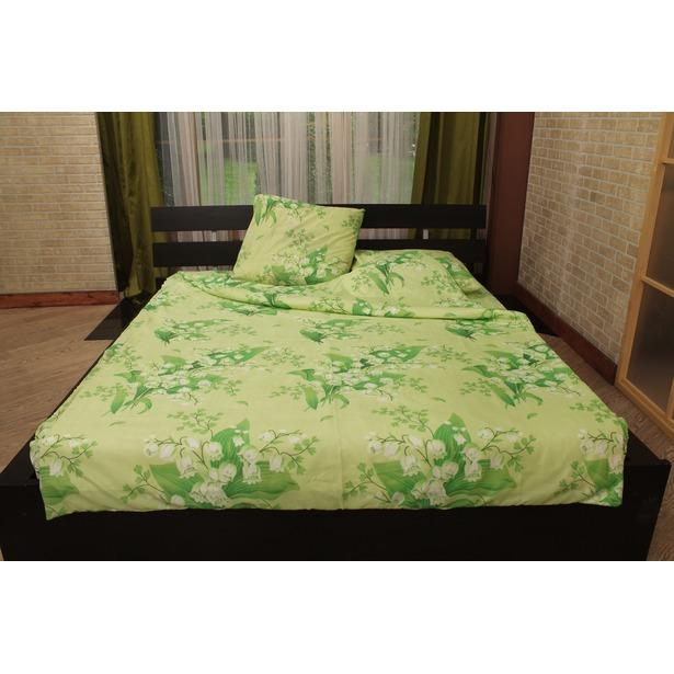 фото Комплект постельного белья «Сон мечты». 2-спальный. Рисунок: ландыши