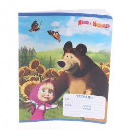 фото Тетрадь в крупную клетку Росмэн «Маша и Медведь» 4