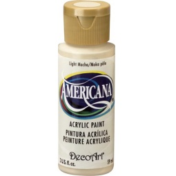 фото Краска акриловая DecoArt Премиум Americana. Цвет: светлый мокко