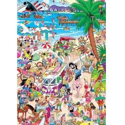 Купить Пазл 1000 элементов Heye «Пляж» Robert Crisp