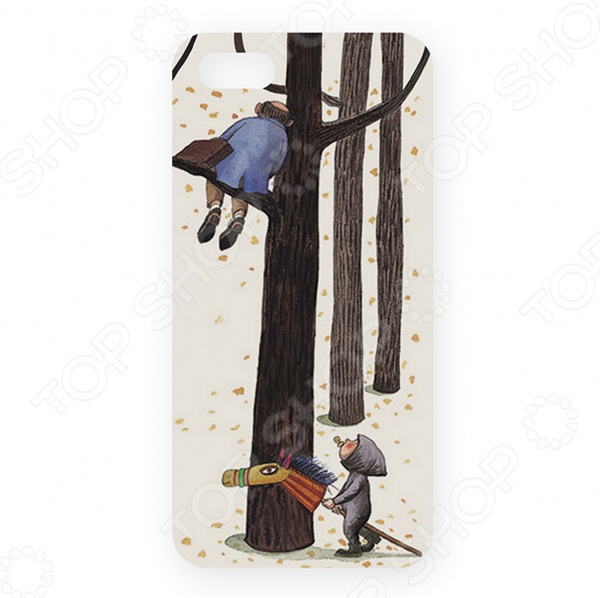 Чехол для iPhone 5 Mitya Veselkov «Малыш и дерево» highscreen аккумулятор для easy s easy s pro 2200 mah