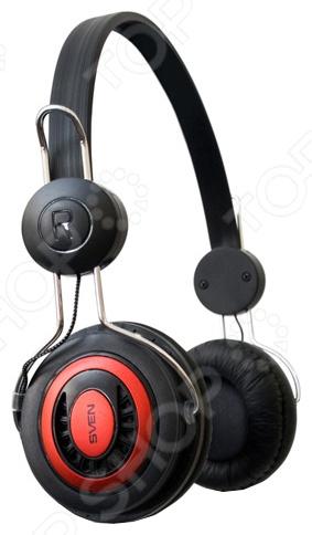 Наушники мониторные Sven GD-330VНаушники<br>Наушники мониторные Sven GD-330V хорошие наушники для прослушивания медиа-файлов. Обладает чистым звуком на всем диапазоне, мягкие и глубокие басы сделают прослушивание более приятным, а амбушюры обеспечат неплохую шумоизоляцию, не причиняя дискомфорт.<br>