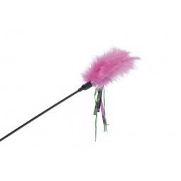 фото Игрушка для кошек Beeztees «Дразнилка с перьями». В ассортименте