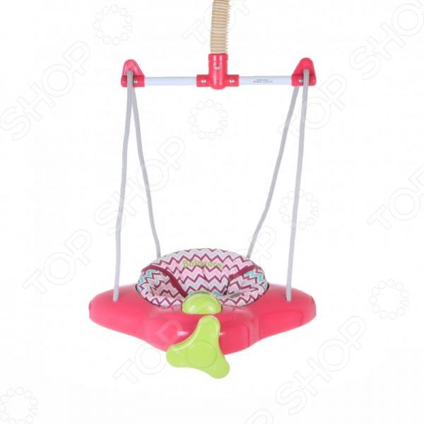 Прыгунки Baby Care Aero Raspberry Stripe удобные и безопасные детские прыгунки. Они легко собираются и надежно крепятся к косяку двери. В данной модели использована система крепления фонендоскоп, оснащенная защитным замком для еще более надежной фиксации. Фиксированная пружина позволяет использовать прыгунки в качестве качелей. Ремешки можно регулировать под вес и рост ребенка.С помощью прыгунков Ваш малыш быстро научится прыгать, ориентироваться в пространстве и освоит моторику ножек. Все тканные детали легко снимаются для стирки. Рекомендованы для детей от 4-х месяцев до 10 кг .
