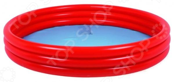 Бассейн надувной Jilong Plain Pool JL010303-1NPF. В ассортиментеНадувные бассейны<br>Товар продается в ассортименте. Цвет изделия при комплектации заказа зависит от наличия товарного ассортимента на складе. Надувные бассейны это прекрасная альтернатива стационарным. Возведение и обустройство последних представляет собой очень трудоемкий и дорогостоящий процесс, в то время как для установки надувного бассейна вам понадобится всего пару минут. Бассейн надувной Jilong Plain Pool JL010303-1NPF имеет круглую форму и состоит из трех надувных колец. Благодаря легкому весу и компактной конструкции, его можно установить в любом, удобном для вас месте. Лучше всего для этого подойдет дачный участок или двор загородного дома. Бассейн выполнен из высокопрочного ПВХ-материала. Самоклеящаяся заплатка в комплекте.<br>