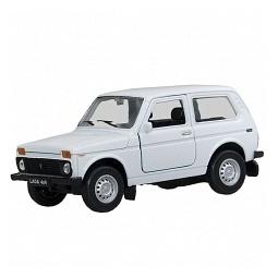 Купить Модель машины 1:34-39 Welly Lada 4x4. В ассортименте