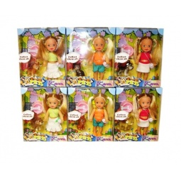 фото Набор игровой с куклой Doll Dak «Карен с питомцем и аксессуарами». В ассортименте