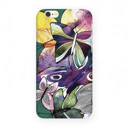 фото Чехол для iPhone 6 Mitya Veselkov «Акварельные бабочки»
