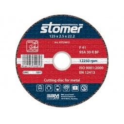 фото Диск отрезной Stomer по металлу. Размер: 125х2,5 мм. Модель: CD-125