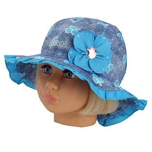 Купить Панама детская Shapochka Jeans. Цвет: голубой