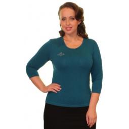 Блуза Матекс «Милка»: 2 шт. Цвет: бордовый, зеленый
