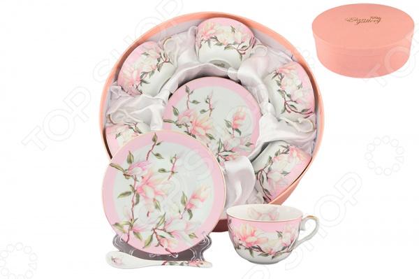 Elan Gallery «Орхидея на розовом» орхидея подарочная в упаковке