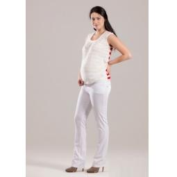 Купить Брюки для беременных Nuova Vita 5422.2. Цвет: белый