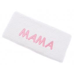 фото Полотенце подарочное с вышивкой TAC Мама. Цвет: белый