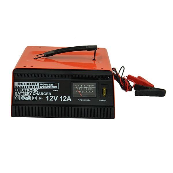 Устройство зарядное Detroit Electric S-03421 как выбрать и где недорогое зарядное устройство для автомобильного аккумулятора