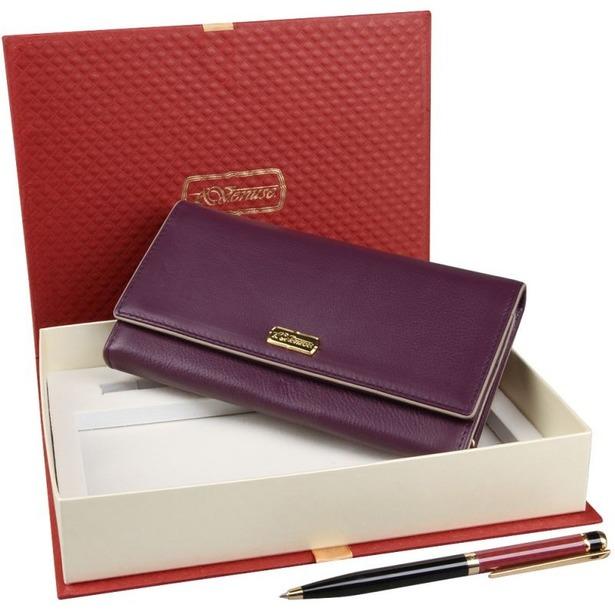 фото Набор: кошелек и ручка Venuse 76003
