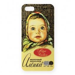 Купить Чехол для iPhone 5 Mitya Veselkov «Шоколадка Аленка»