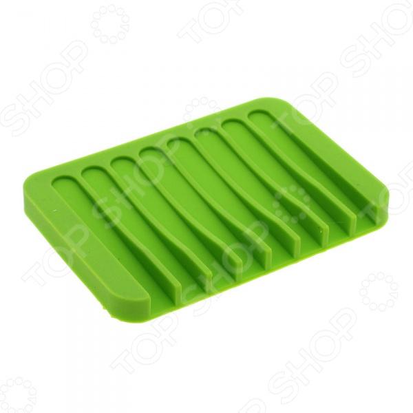 Мыльница Ruges «Рельеф»Аксессуары для ванной комнаты<br>Мыльница Ruges Рельеф станет прекрасным дополнением к набору аксессуаров и принадлежностей для ванной комнаты. Модель выполнена из силикона и предназначена для удобного хранения кускового мыла. Благодаря ребристой поверхности и отсутствию бортиков, внутри мыльницы обеспечивается хорошая вентиляция, что предотвращает раскисание и размокание мыла.<br>