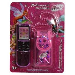 Купить Телефон-слайдер мобильный игрушечный 1toy Т55634