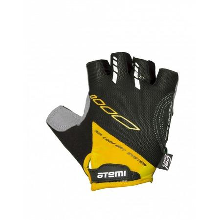 Купить Перчатки велосипедные вентилируемые Atemi AGC-04. Цвет: желтый