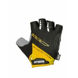 фото Перчатки велосипедные вентилируемые Atemi AGC-04. Цвет: желтый. Размер: S