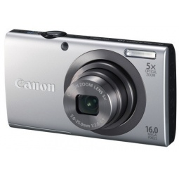 фото Фотокамера цифровая Canon PowerShot A2300. Цвет: серебристый