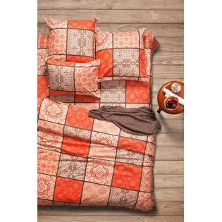 Купить Комплект постельного белья Сова и Жаворонок Premium «Шафран». 2-спальный