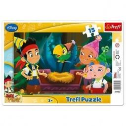 Купить Пазл 15 элементов Trefl «Приключения» с рамкой